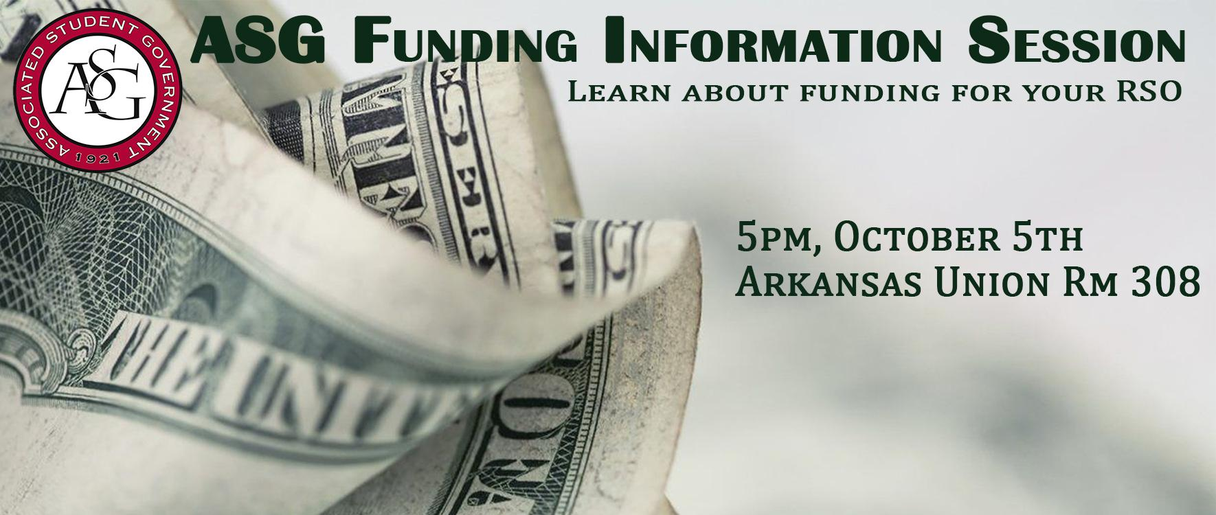 ASG Funding Information Session