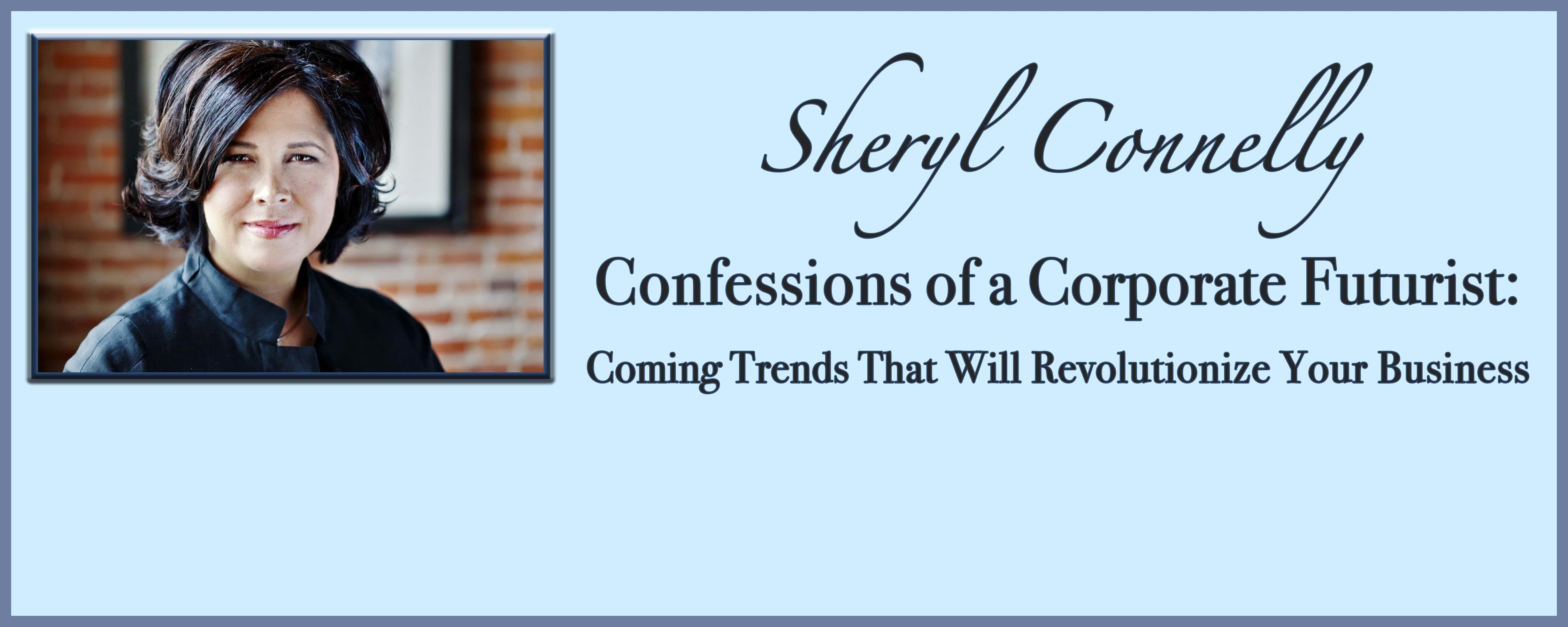 Distinguished Lectures presents: Sheryl Connelly