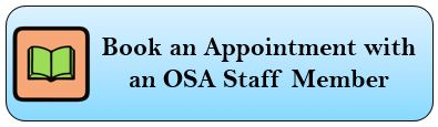 Book an Appointment with and OSA Staff Member